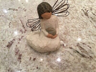 Willow Tree Figurine Angel Of Protection. Preloved.