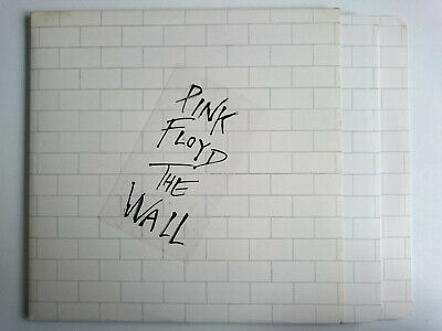 Pink Floyd The Wall Harvest Shdw 411 Dave Gilmour Roger Waters Gatefold Double