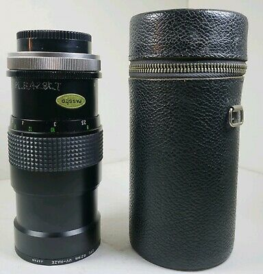 Canon Phase 2 CCT 200MM 1 : 3 . 3 Auto Zoom CPC SLR Camera Lens With Case