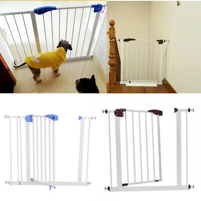 Metal Extra Wide Door Stair Gate Doorway Safety Baby Pet Dog Guard Pressure Fit