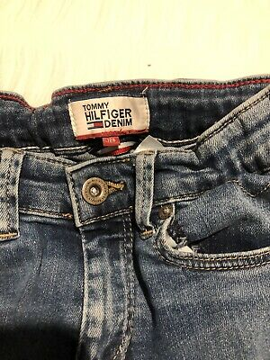 Tommy Hilfiger Skinny  Jeans Age 7-9 Perfect Condition