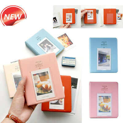 64 Pockets Album Photo Book Storage Case For Fujifilm Instax Mini Film Polaroid