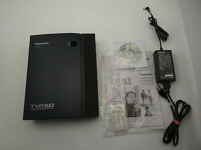 Panasonic KX-TVA50 Voice Processing System with Power Supply