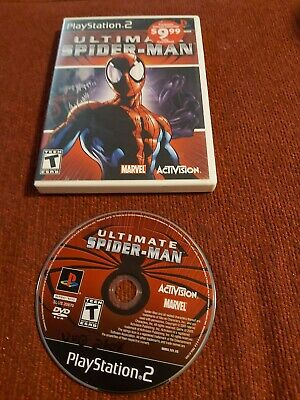 Ultimate Spider-Man disc and case only ps2 (Sony PlayStation 2, 2005)