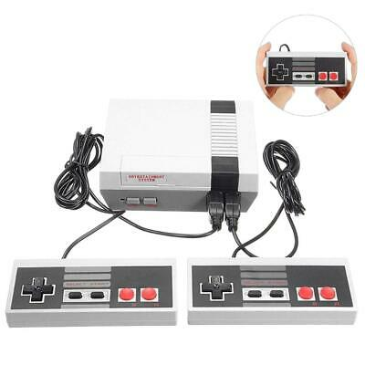 Retro TV Game Console 620 Built-in MINI Classic NES Games with 2 Controllers US