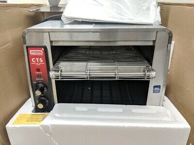 Waring CTS1000B Commercial Heavy Duty Conveyor Toaster Genuine 208V