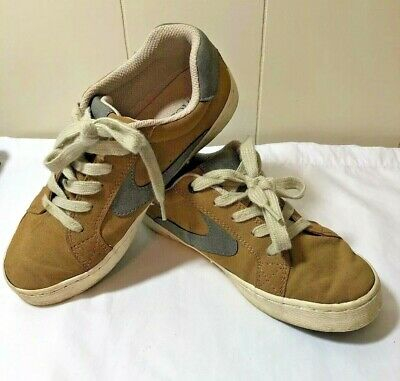 The Childrens Place Boys Tennis Shoes Size 4 Brown U01