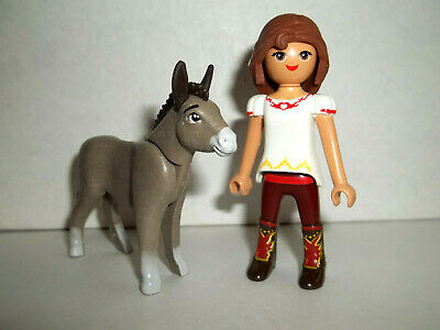 "/"" TANTE CORA /"" SPIRIT RIDING FREE Playmobil zu 9475 Frau Rock braun Reiter MOVIE"