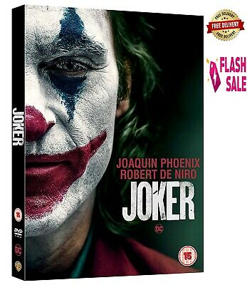 JOKER 2019 DVD Joaquin Phoenix Robert De Niro New Movie OSCARS 2020