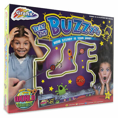Beat The Buzzer Buzz Wire Activity Game Steady Hand Skill Kids Toy Game