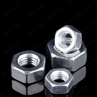 M3 M4 M5 M6 M8 M10 M12 M14 M16 Aluminum Alloy 6061 Hexagon Nuts Hex Nut DIN934