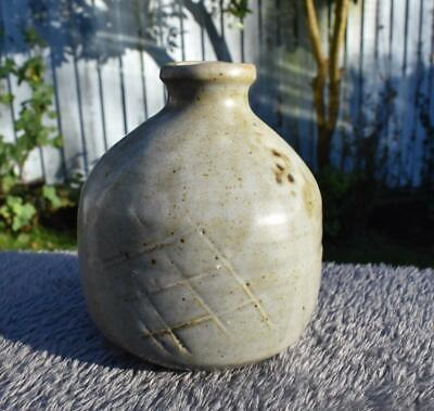 Rare Studio Pottery Vase by William Marshall. Leach Studio St. Ives
