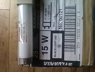 Sylvania  F15W  Replacement Ultra Violet Flykiller Bulbs (X4) .