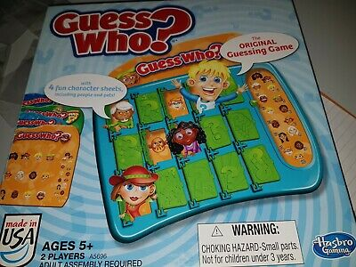 Guess Who? Classic The Original Guessing Game 2014 Hasbro