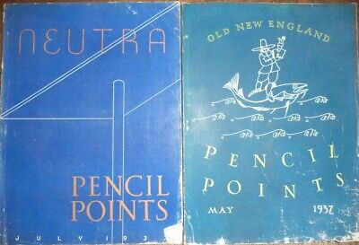 3 1937 Pencil Points Drafting Neutra Architecture Architectural Drawings Design