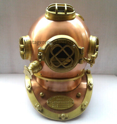 Antique Diving Divers Helm Deep Sea Mark V Scuba vintage Helm Replica