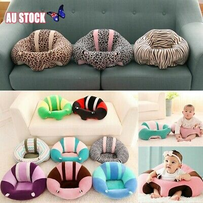 AU Soft Chair Cushion Sofa Plush Pillow Toy Pads Kids Baby Support Seat Sit Up