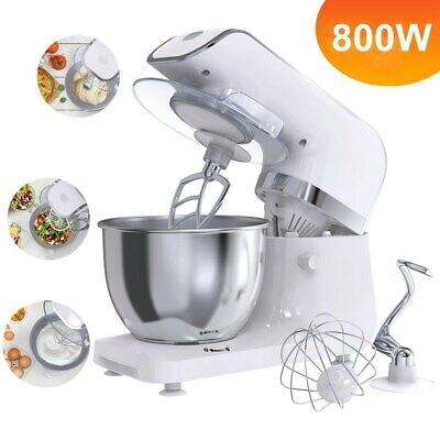 Professional 4L 6 Speed Electric Food Stand Mixer Blender Bowl Dough Hook Beater