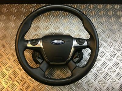 11-14 Ford Focus Mk3 Multifunction Leather Steering Wheel With Airbag