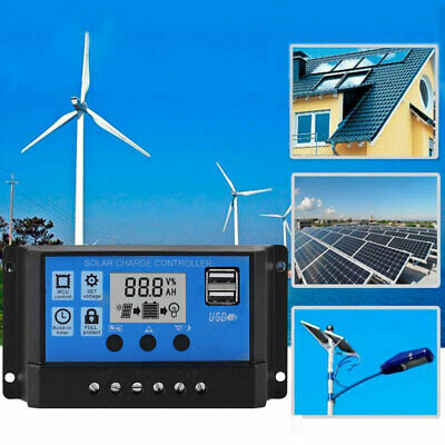 0E1A 10A-50A MPPT Solar Charge LCD MPPT Solar Outdoor Inverters Auto Battery