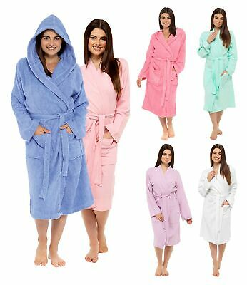 Ladies Towelling Robes | Towel Bath Robes | Womens Dressing Gown | House Coat