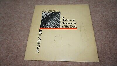 ORCHESTRAL MANOEUVRES IN THE DARK - ARCHITECTURE & MORALITY (orig 1981 vinyl LP)