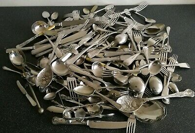 Job Lot 1 silver plated EPNS cutlery - 130 pieces