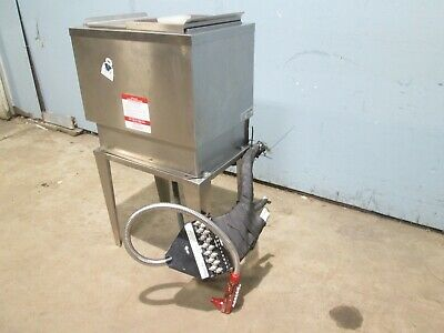 HD COMMERCIAL 8 CIRCUITS UNDER COUNTER SS COLD PLATE ICE BIN w/WUNDER BAR GUN