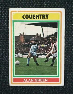 Mick Coop Coventry City No 193 Topps Football Blue//Grey 1976 B1