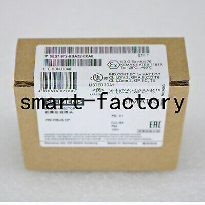 1PC New In Box Siemens 6ES7 972-0BA52-0XA0 6ES7972-0BA52-0XA0