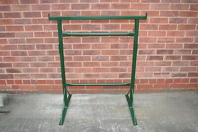 2 x SIZE 3 ADJUSTABLE BUILDERS TRESTLES / BAND STANDS MADE IN THE UK