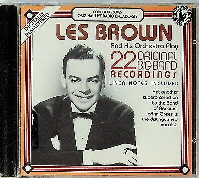 LES BROWN 22 Original Big Band Recordings LIVE Radio Broadcasts CD (The Best of)