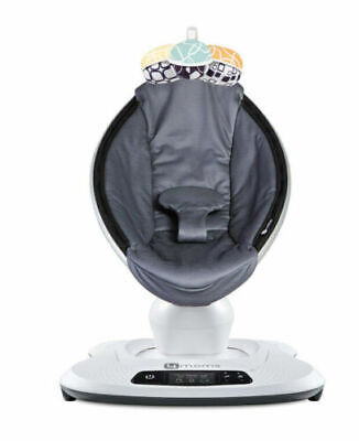 4moms MamaRoo 4 infant seat / swing – Cool Gray (NEW IN RETAIL BOX)