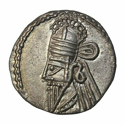 Ancient Kings Of Parthia Osroes II 190-208 AD Silver Drachm Parthian Sellwood-85