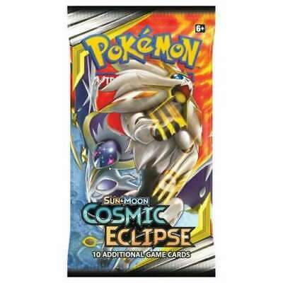 1x Cosmic Eclipse Factory Sealed Booster Pack Pokemon Cards Sun & Moon TCG