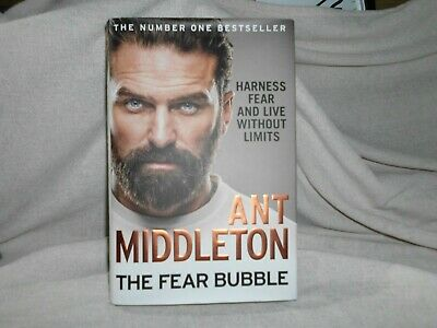 THE FEAR BUBBLE by ANT MIDDLETON ~ HARDBACK BOOK ~ READ ONCE ~ MOST EXCELLENT