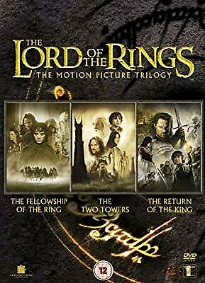 The Lord of the Rings Trilogy (Theatrical Edition Box Set) [DVD], , Used; Very G