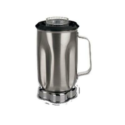 Waring CAC33 32 oz Stainless Blender Container w/ Lid & & Blade Assembly