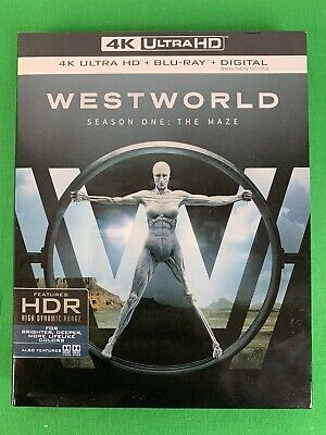 Westworld: The Complete First Season 4K UHD/BD/Digital Copy Blu Ray