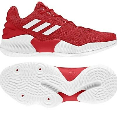 Adidas Mens Basketball Shoe Athletic Pro Bounce Mid 2018 Red White AH2674 Sz 13