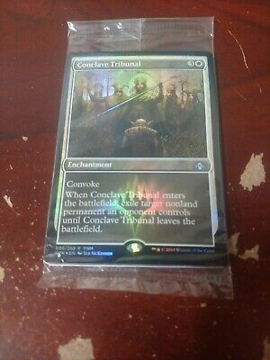1 PROMO PLAYED FOIL Faerie Conclave Land Summer of Magic Mtg Magic Rare 1x x1