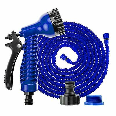 50FT Magic Hose Pipe Expanding Expandable Flexible Garden Water Spray Gun