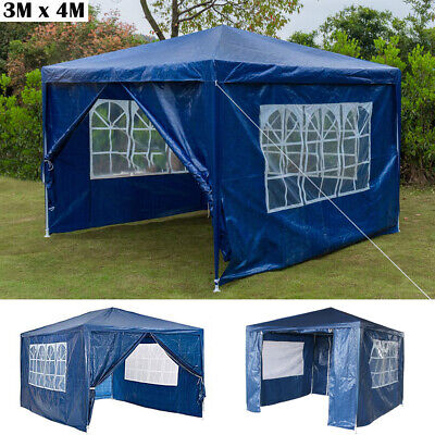 SunTime Polenza 2.5m Outdoor Garden Patio Gazebo Shelter with Mosquito Net Sidewalls