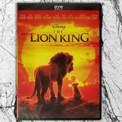 The Lion King (DVD, 2019,Region 1 US) Live Action Movie Brand New Free Shipping