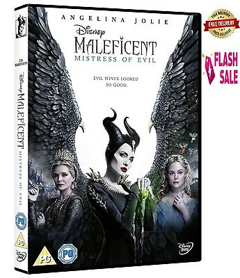 Maleficent: Mistress of Evil (2019), DVD with Angelina Jolie NEW Movie