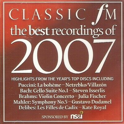 Classic FM No.158 - The Best Recordings 2007 (CD 2007) Promo; FREE UK P&P; *NEW*