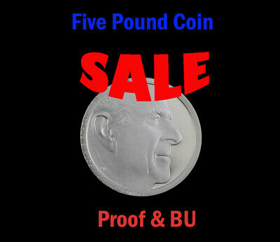 **SALE** Royal Mint £5 Five Pound Coins / Crowns BU & Proof - 1972-2020 **SALE**