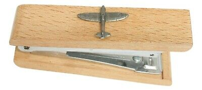 Spitfire Wooden Stapler Office Stationary RAF Gift 342