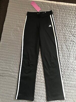 BNWT Adidas Climalite Girls Trainings Pants/Bottoms age 9-10