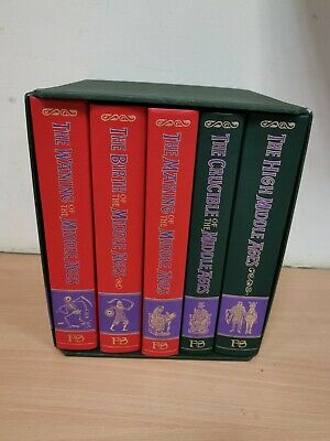 The Story of the Middle Ages - 5 Volume Set - Folio Society 1999 (Hospice)